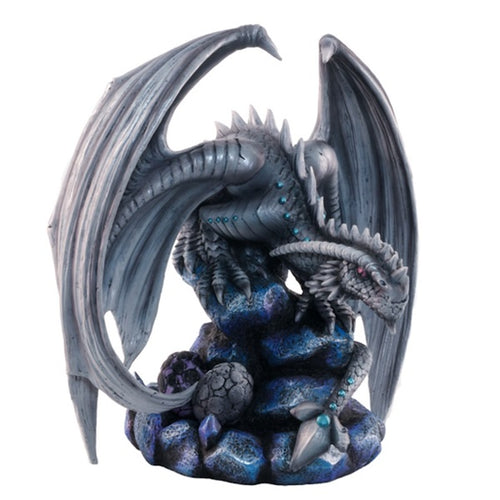 Large Rock Dragon Statue - Anne Stokes - Rivendell Shop NZ