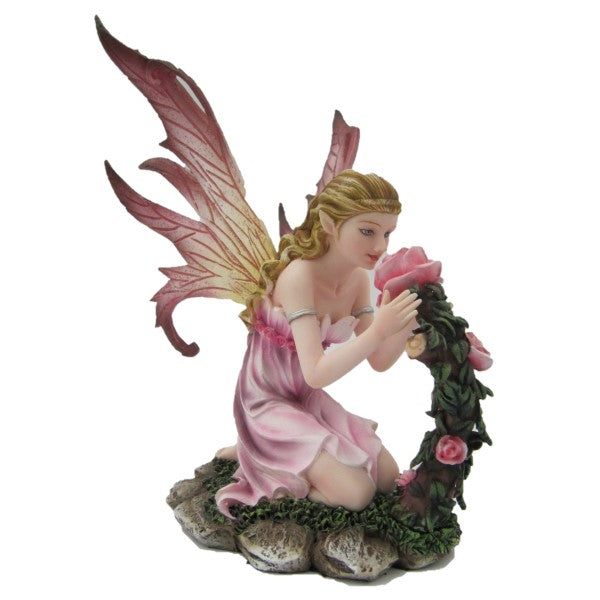 Pink Fairy Smelling Flowers - Rivendell Shop