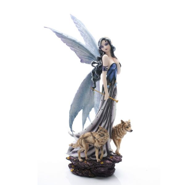 Fairy With Wolves - Rivendell Shop