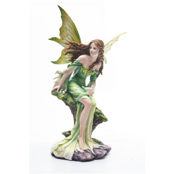 Forest Fairy With Pigeons - Rivendell Shop NZ