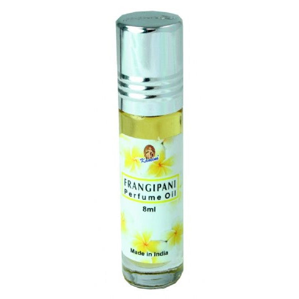 Kamini Perfume Oil Frangipani - Rivendell Shop NZ