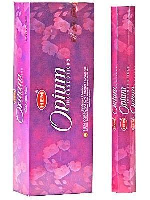 HEM Hexagon Opium Incense 6 Pack - Rivendell Shop NZ