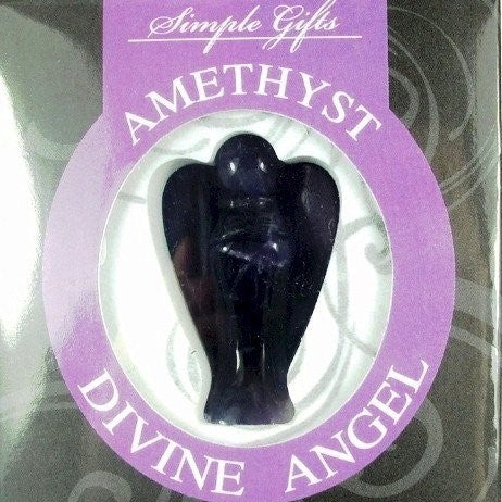 Amethyst Divine Angel - Rivendell Shop