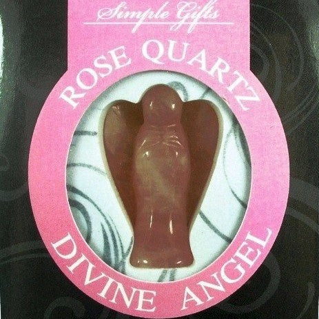 Rose Quartz Divine Angel - Rivendell Shop