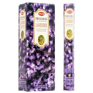 HEM Hexagon Precious Lavender Incense 6 Pack - Rivendell Shop NZ