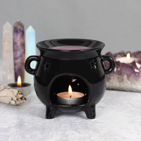Black Cauldron Oil Burner - Rivendell Shop NZ