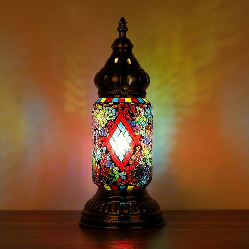 Turkish Mosaic Lamp Ottoman Style I - Rivendell Shop NZ
