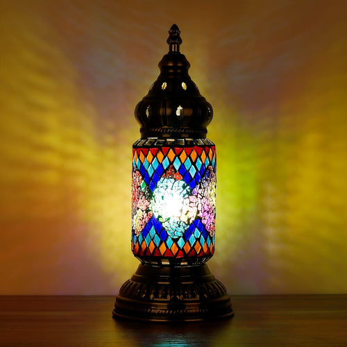 Turkish Mosaic Lamp Ottoman Style IV - Rivendell Shop NZ