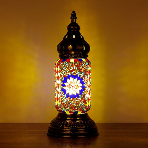Turkish Mosaic Lamp Ottoman Style V - Rivendell Shop NZ