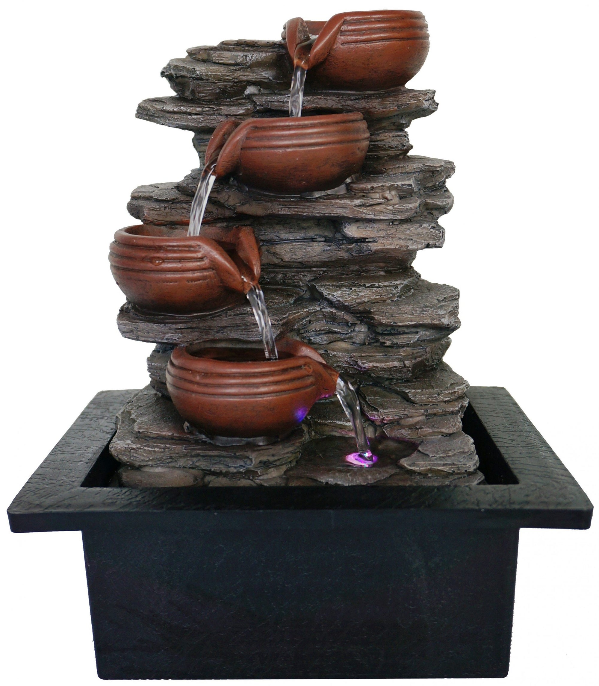 Clay Pitchers Water Feature - Rivendell Shop NZ