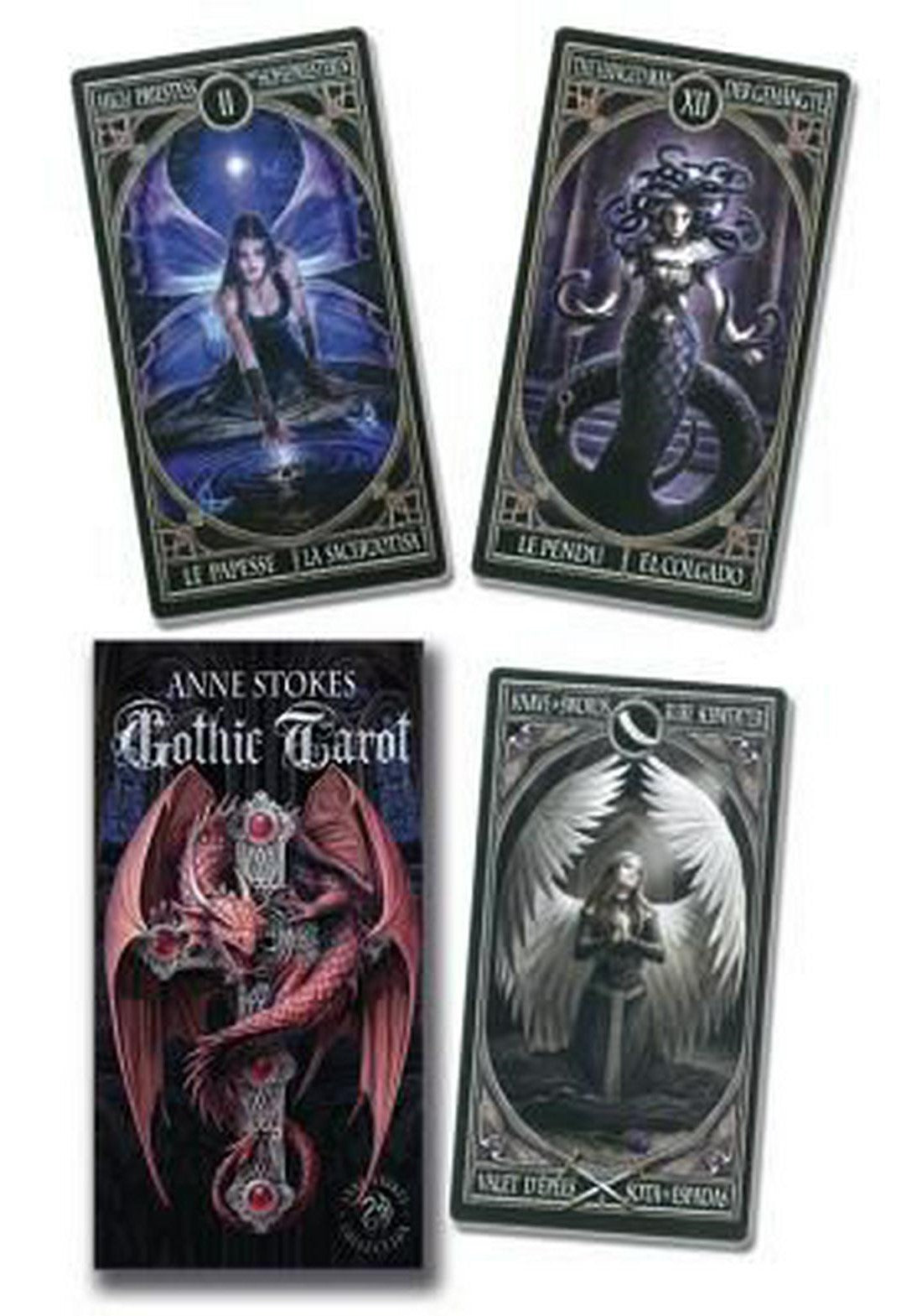 Anne Stokes Gothic Tarot Deck - Rivendell Shop NZ