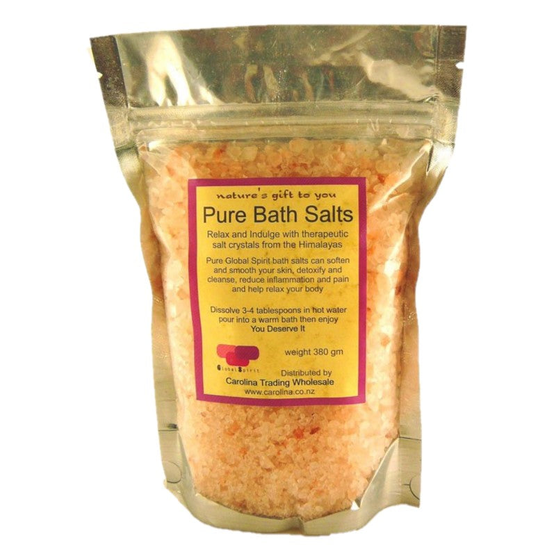Himalayan Salt Pure Bath Salts 100g - Rivendell Shop NZ