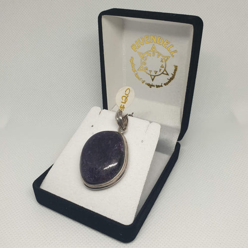 Chaorite Stone 925 Sterling Silver Pendant - Rivendell Shop NZ