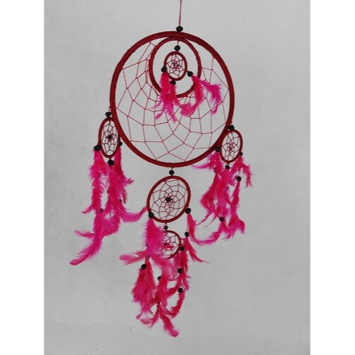 Red Dreamcatcher within a Dreamcatcher - Rivendell Shop