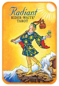 Radiant Rider Waite Tarot in a Tin - Rivendell Shop NZ