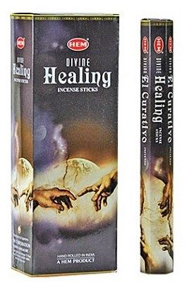 HEM Hexagon Divine Healing Incense 6 Pack - Rivendell Shop NZ