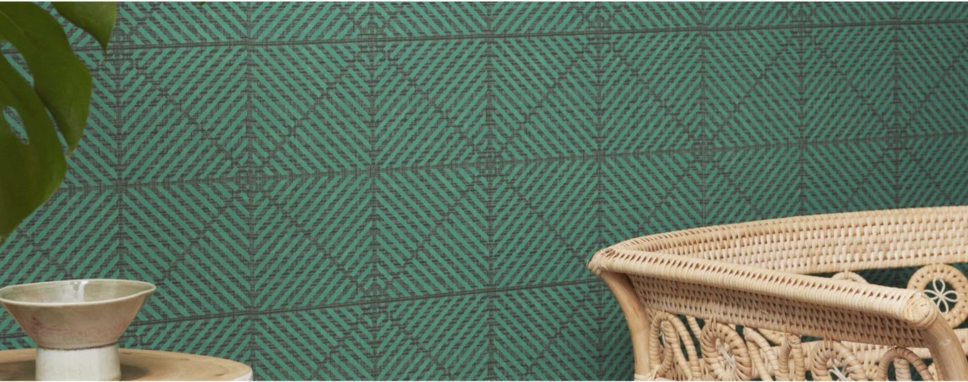 Geometric Wallcovering