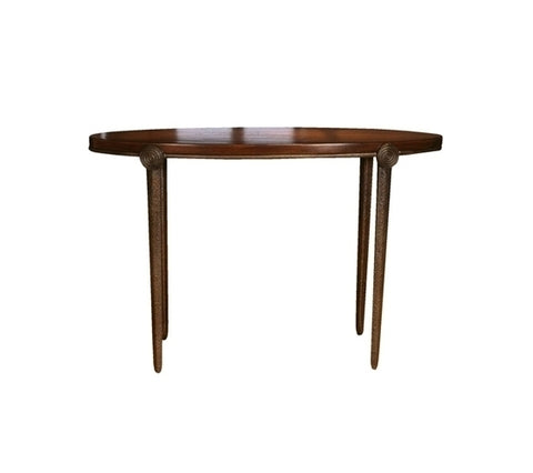 Medallion Console Table - Oval