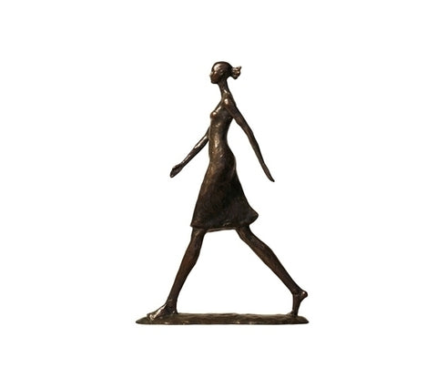 Female Walking Maquette with Collector's Ed Book