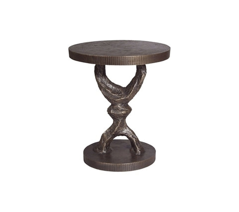 Crescent Pedestal Table