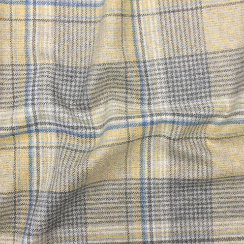 Wagtail Plaid - Sandstone