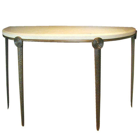 Medallion Console Table