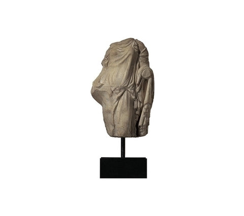 DRAPED FEMALE TORSO