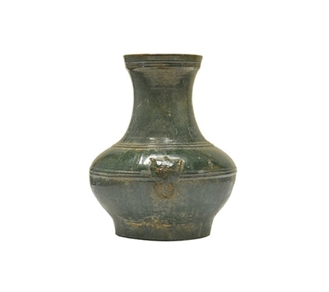 HAN STYLE JAR WITH LION, LONG NECK