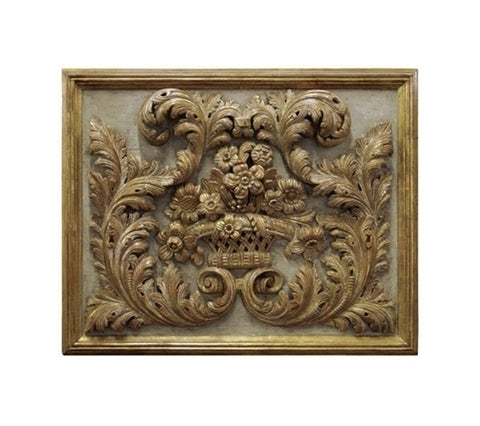 LOUIS XV GILT PANEL