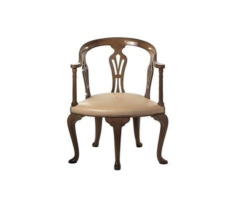FIVE LEG GEORGIAN CHAIR