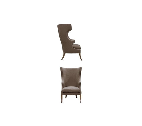 HIGHBACK ENGLISH WING CHAIR