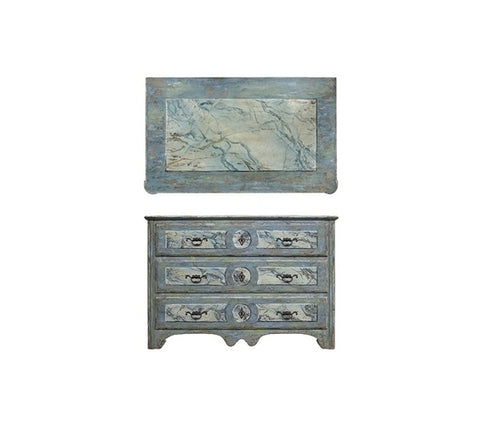 VERNIS THREE DRAWER CHEST
