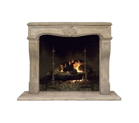FRENCH MANTLE FIREPLACE
