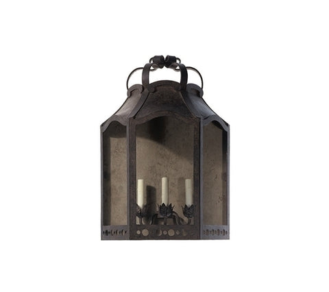 CROWTHER WALL LANTERN - OPEN TOP