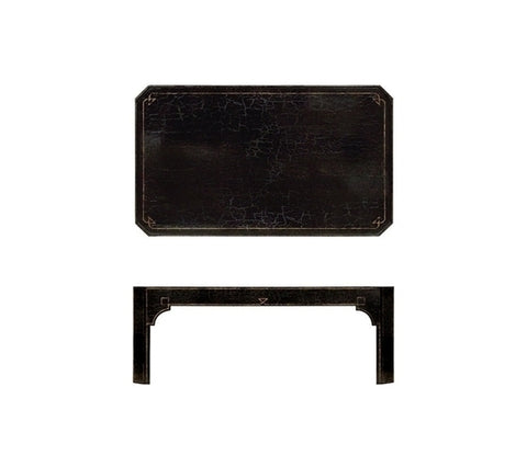 LACQUER COCKTAIL TABLE