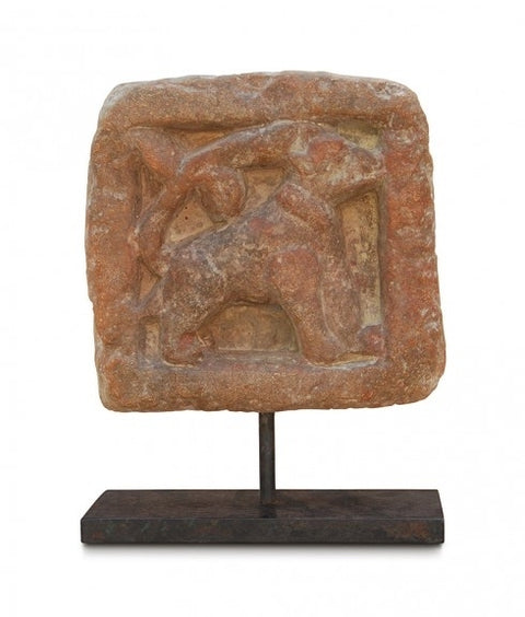 DOG TILE ON STAND