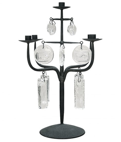 LAZLO FOUR ARM CANDELABRA
