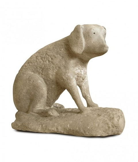EIGHTEENTH CENTURY STONE DOG