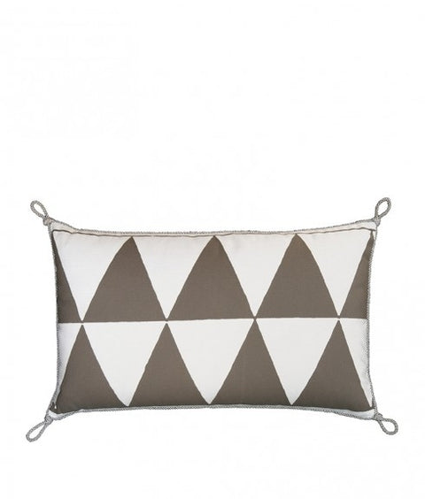 GABLES PILLOW - SMOKY QUARTZ