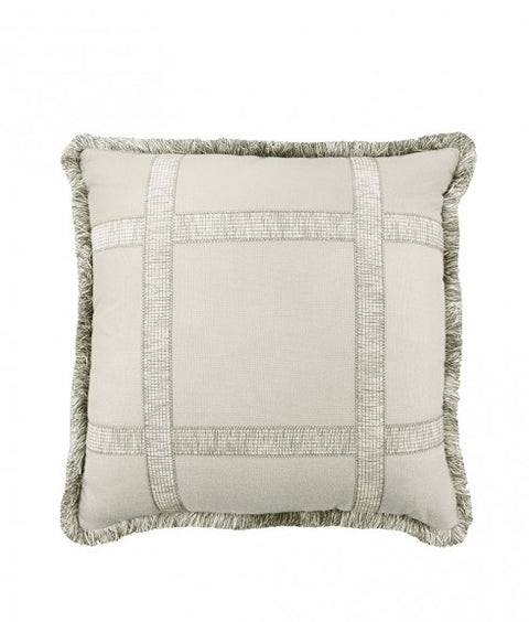 WINDOW PANE PILLOW - SELENITE