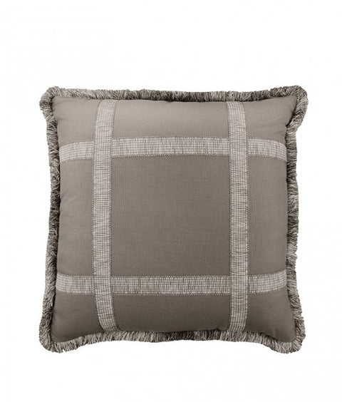 WINDOW PANE PILLOW - SMOKY QUARTZ