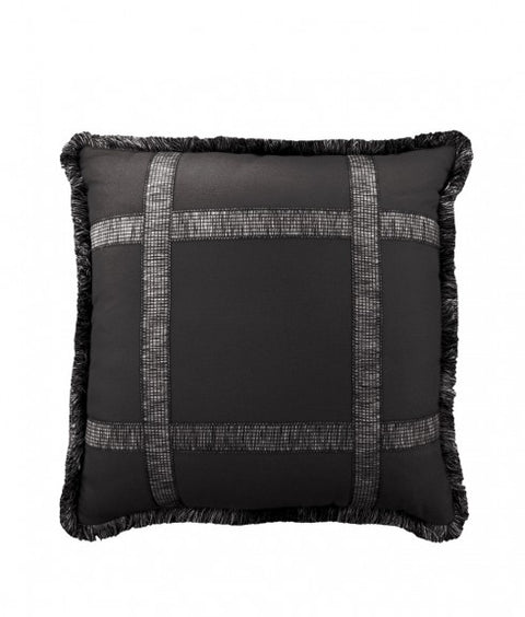 WINDOW PANE PILLOW - ONYX