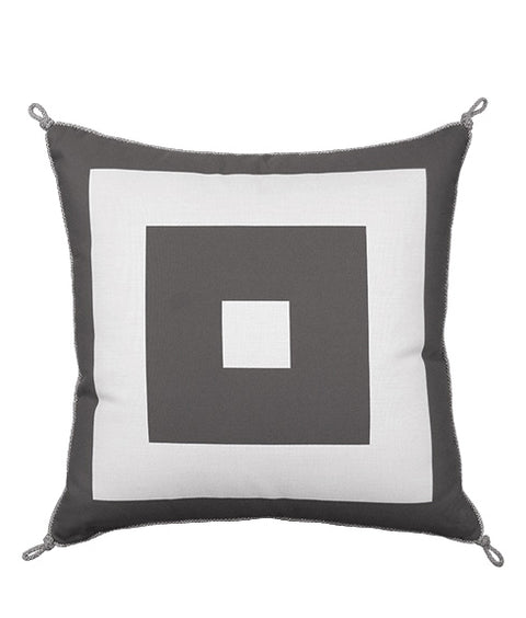 CUBED PILLOW - SLATE