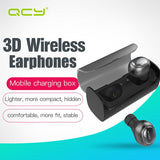 QCY Q29 Business Earphones Wireless Bluetooth Earphone 3D Stereo Headsets with Microphone