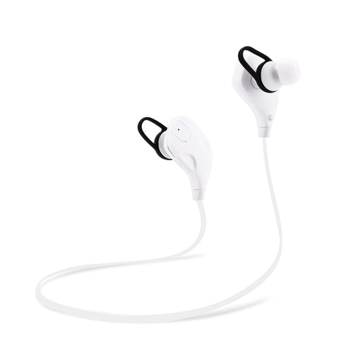 QY7S Bluetooth V4.1 Wireless Noise Cancelling Sport Earphones Headphones