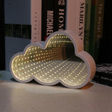 Stylish Cloud Shaped Infinity Mirror Light LED Tunnel Lamp