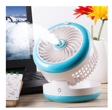 Mini Water Mist Fan USB Water Spray Cooling Fan Small Portable Air Conditioner Humidification Cooling Fan
