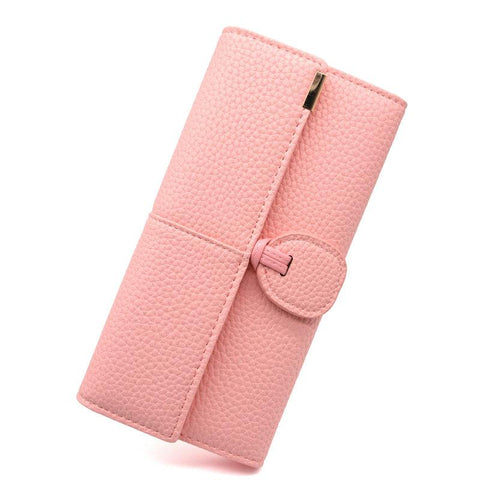 Phone Pocket Luxury Wallets Women Brand Lady Purses For Leather Clutch Long Hasp Woman Wallet Female Purse Card Holder