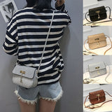 trendy bags for Women pu Leather Crossbody Bag