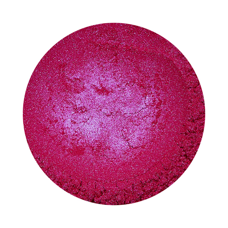 Metallic Cerise Pink Epoxy Dye Powder Pigment colour for adding metallic colour to epoxy crafts and table tops